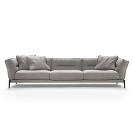 Modern sofas upholstered with washable fabric
