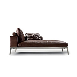 chaise longue dormeuse flexform. Black Bedroom Furniture Sets. Home Design Ideas