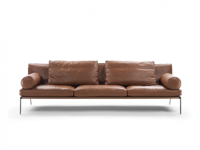Divano In Pelle Made In Italy.Happy Sofas Sectional Sofas