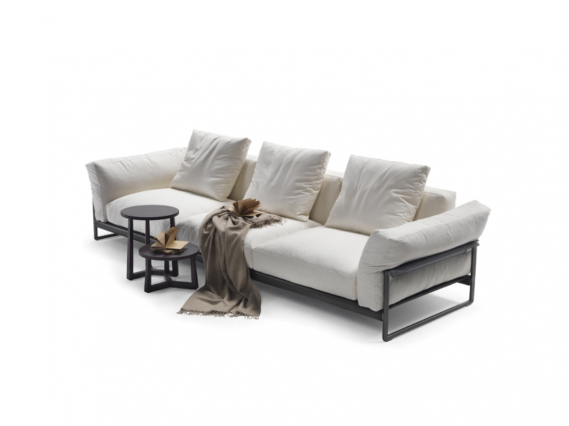 Zeno Light Sofas Sectional