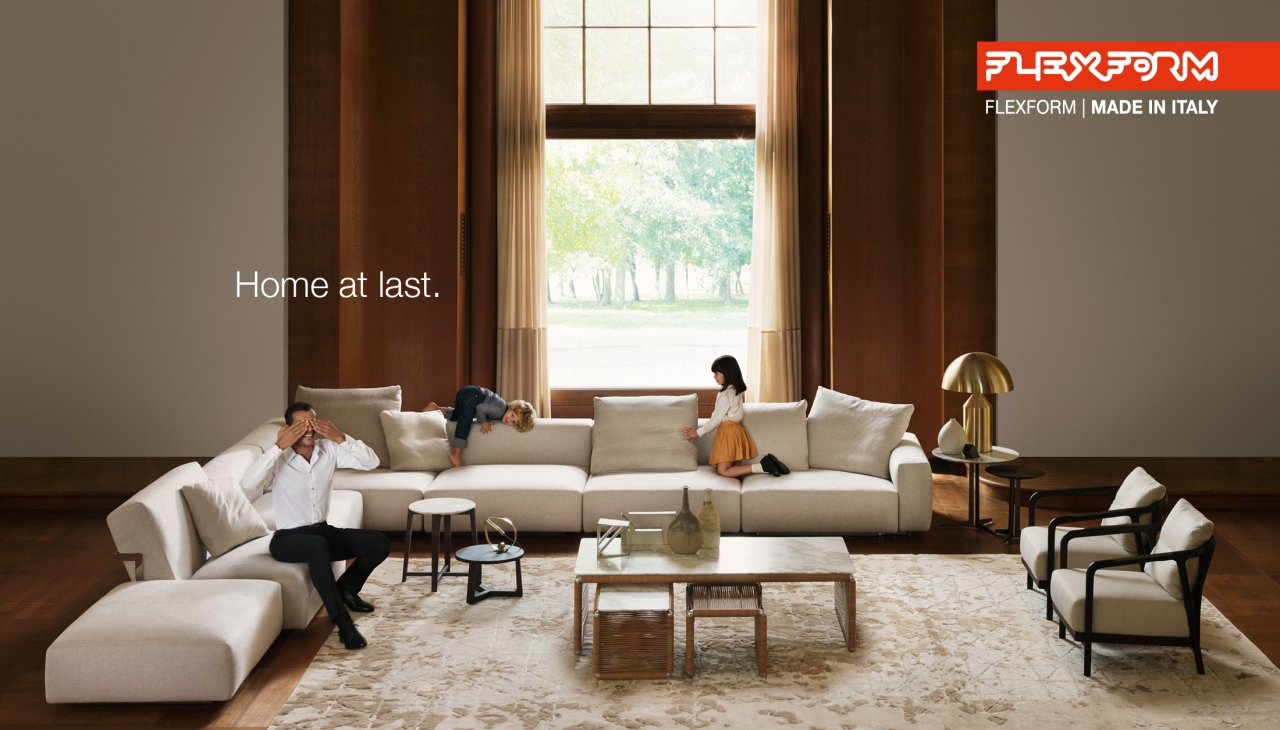 Flexform Launches The New Campaign Home At Last 2016
