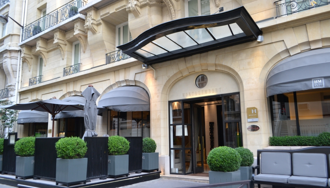 Hotel montalembert paris france for Paris boutiques hotels